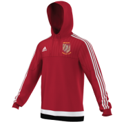 Methley CC Adidas Red Hoody