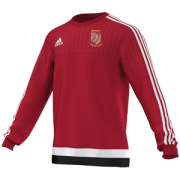 Methley CC Adidas Red Sweat Top