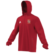 Methley CC Adidas Red Rain Jacket