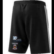 Moorside CC Adidas Black Training Shorts