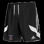 Moorside CC Adidas Black Junior Training Shorts