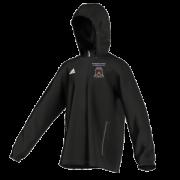 Moorside CC Adidas Black Rain Jacket