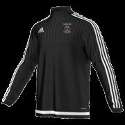 Moorside CC Adidas Black Junior Training Top