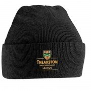 Nidderdale League Black Beanie