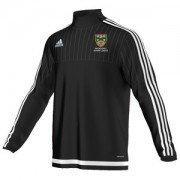 Nidderdale League Adidas Black Junior Training Top
