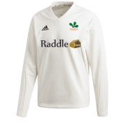 Oakamoor CC Adidas Elite Long Sleeve Sweater