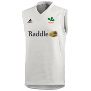 Oakamoor CC Adidas Elite Junior Sleeveless Sweater