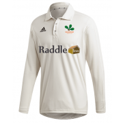 Oakamoor CC Adidas Elite Long Sleeve Shirt