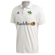 Oakamoor CC Adidas Elite Junior Short Sleeve Shirt