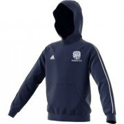 Plumtree CC Adidas Navy Junior Hoody