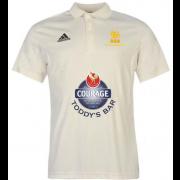 Pocklington CC Adidas Pro Junior Short Sleeve Polo