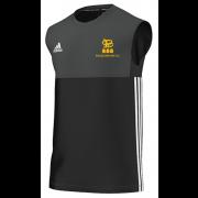 Pocklington CC Adidas Black Training Vest