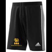 Pocklington CC Adidas Black Junior Training Shorts