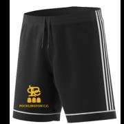 Pocklington CC Adidas Black Training Shorts