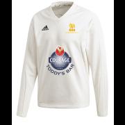 Pocklington CC Adidas Elite Long Sleeve Sweater