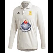 Pocklington CC Adidas Elite Long Sleeve Shirt