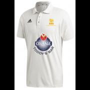 Pocklington CC Adidas Elite Junior Short Sleeve Shirt