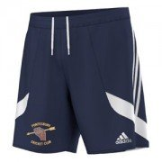 Pontesbury CC Adidas Navy Training Shorts