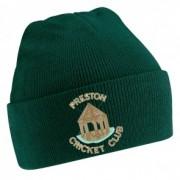 Preston CC Green Beanie