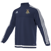 Preston CC Adidas Navy Training Top