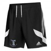 Stocksbridge CC Adidas Black Training Shorts