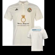 Streatham and Marlborough CC Adidas Pro Junior Short Sleeve Polo