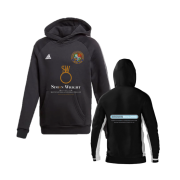 Streatham and Marlborough CC Adidas Black Junior Fleece Hoody