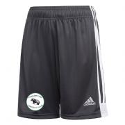 Thrumpton CC Adidas Black Junior Training Shorts