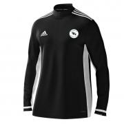Thrumpton CC Adidas Black Zip Training Top