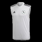 Thrumpton CC Adidas White Training Vest