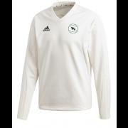 Thrumpton CC Adidas Elite Long Sleeve Sweater