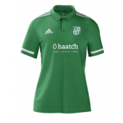Uffington CC Adidas Green Polo