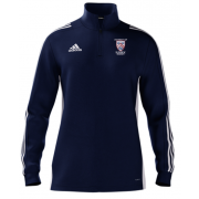 University of Sussex CC Adidas Navy Zip Training Top