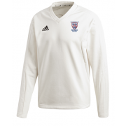 University of Sussex CC Adidas Elite Long Sleeve Sweater