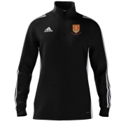 USK CC Adidas Black Zip Junior Training Top