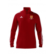 USK CC Adidas Red Zip Junior Training Top