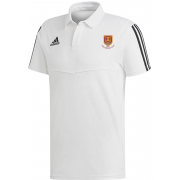 USK CC Adidas White Polo