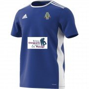 Linlithgow CC Adidas Blue Junior Training Jersey