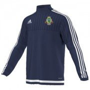 Linlithgow CC Adidas Navy Training Top
