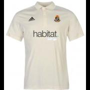 Willey Wanderers CC Adidas Pro Junior Short Sleeve Polo