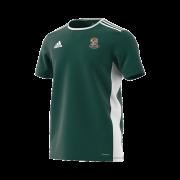 Willey Wanderers CC Green Junior Training Jersey