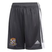 Willey Wanderers CC Adidas Black Junior Training Shorts