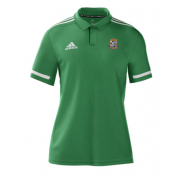 Willey Wanderers CC Adidas Green Polo
