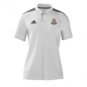 Willey Wanderers CC Adidas White Polo