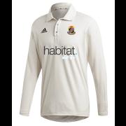 Willey Wanderers CC Adidas Elite Long Sleeve Shirt