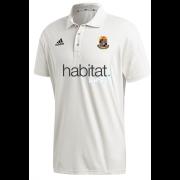 Willey Wanderers CC Adidas Elite Junior Short Sleeve Shirt
