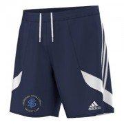 Farnworth Social Circle CC Adidas Navy Training Shorts