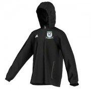 Tockwith AFC Adidas Black Rain Jacket