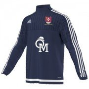 Witham CC Adidas Navy Training Top