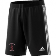 Doncaster Town CC Adidas Black Training Shorts